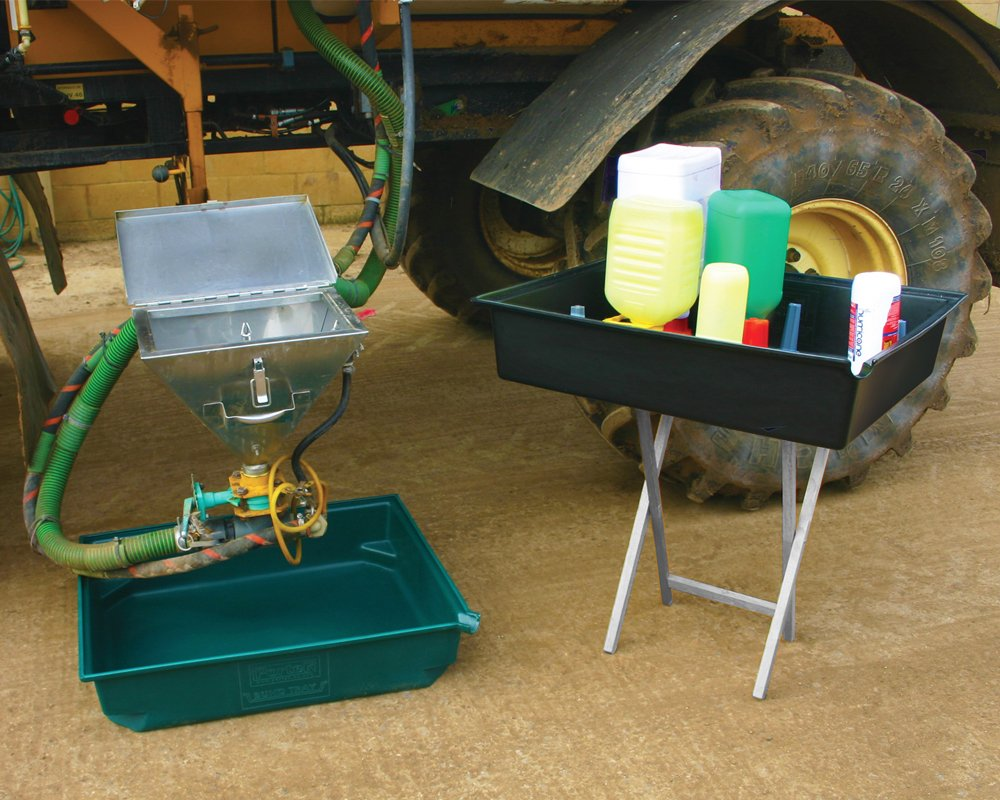 portek chemdrip tray and bund crop spraying chemicals