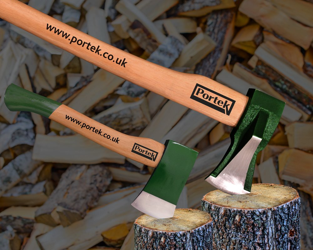 log splitting axe portek kindling axe