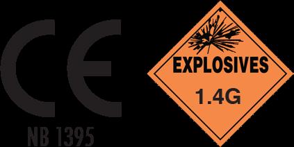 agricultural bird scaring banger ropes explosives warning