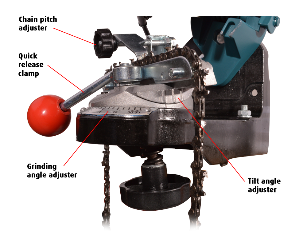 portek chainmaster ultra mk3 chain cradle adjustment