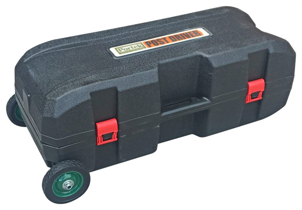 Portek Post Driver Wheeled Carry Case