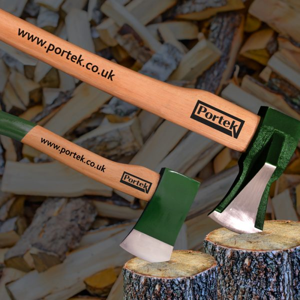 portek garden tools log splitting axes