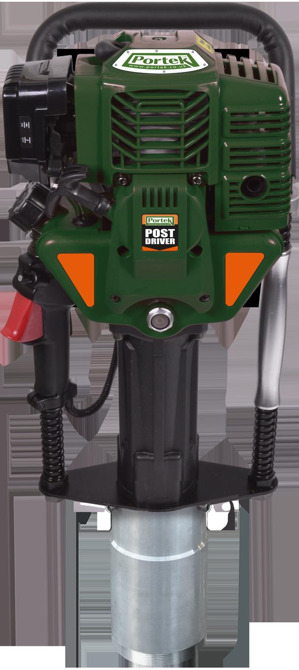 portek post driver post driving standard post holder