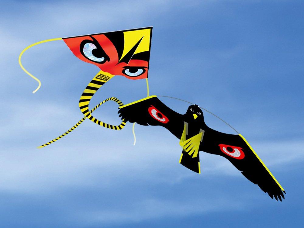 portek silent birdscaring kites wind driven bird scarers