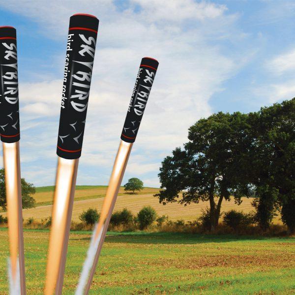 skybird agricultural birdscaring rockets from portek