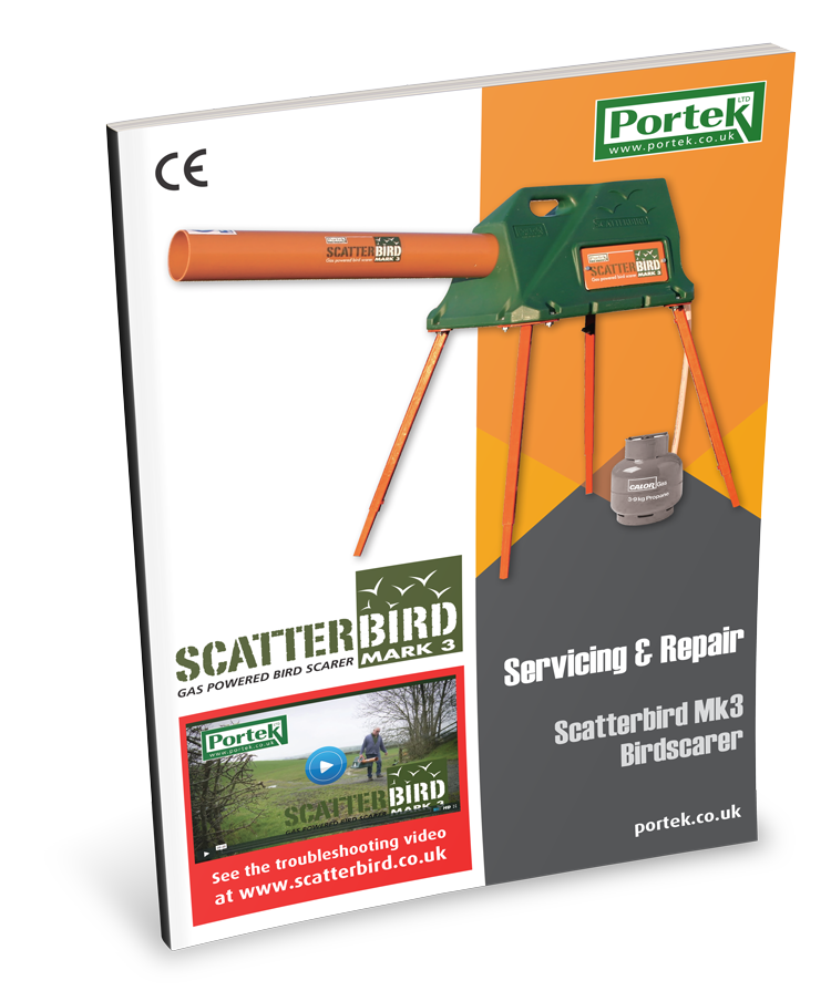 portek scatterbird mk3 service and repair guide