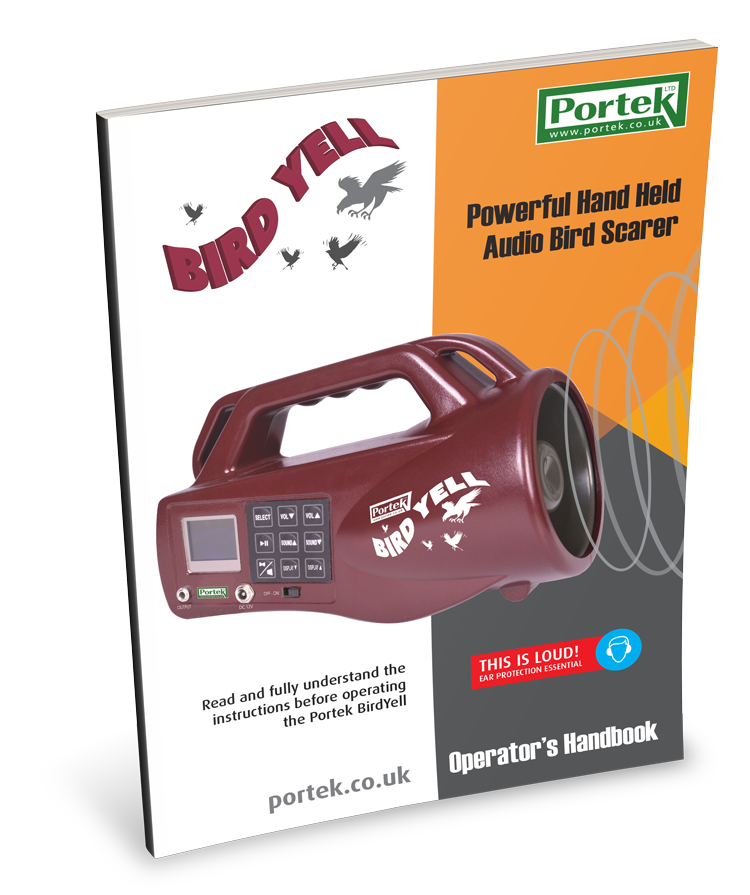 portek birdyell operators handbook