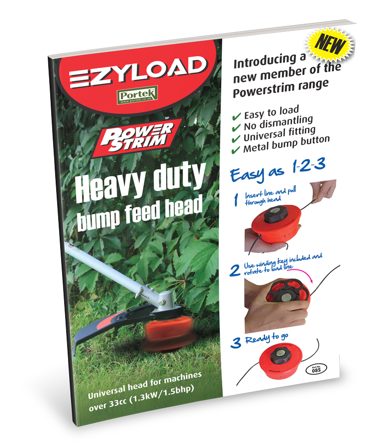 portek powerstrim ezyload bump feed head sales leaflet
