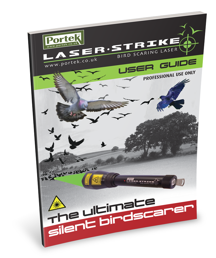 portek laserstrike bird scarer user guide