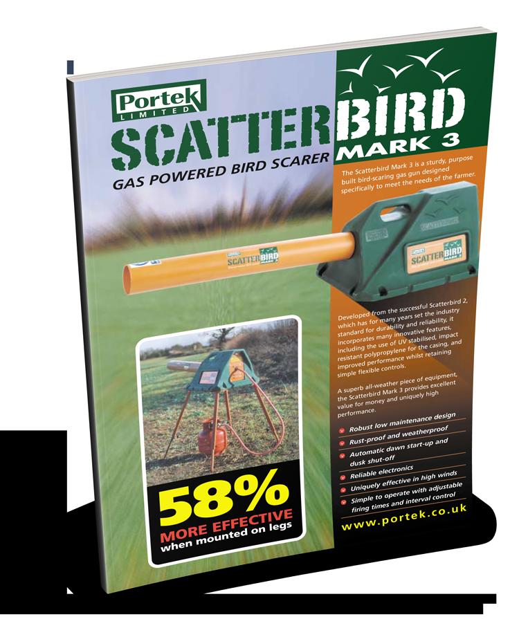 portek scatterbird mk3 sales leaflet