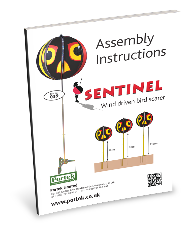 portek sentinal assembly instruction guide
