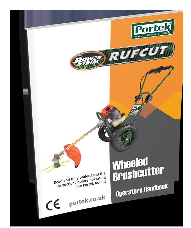 portek rufcut strimmer operators handbook