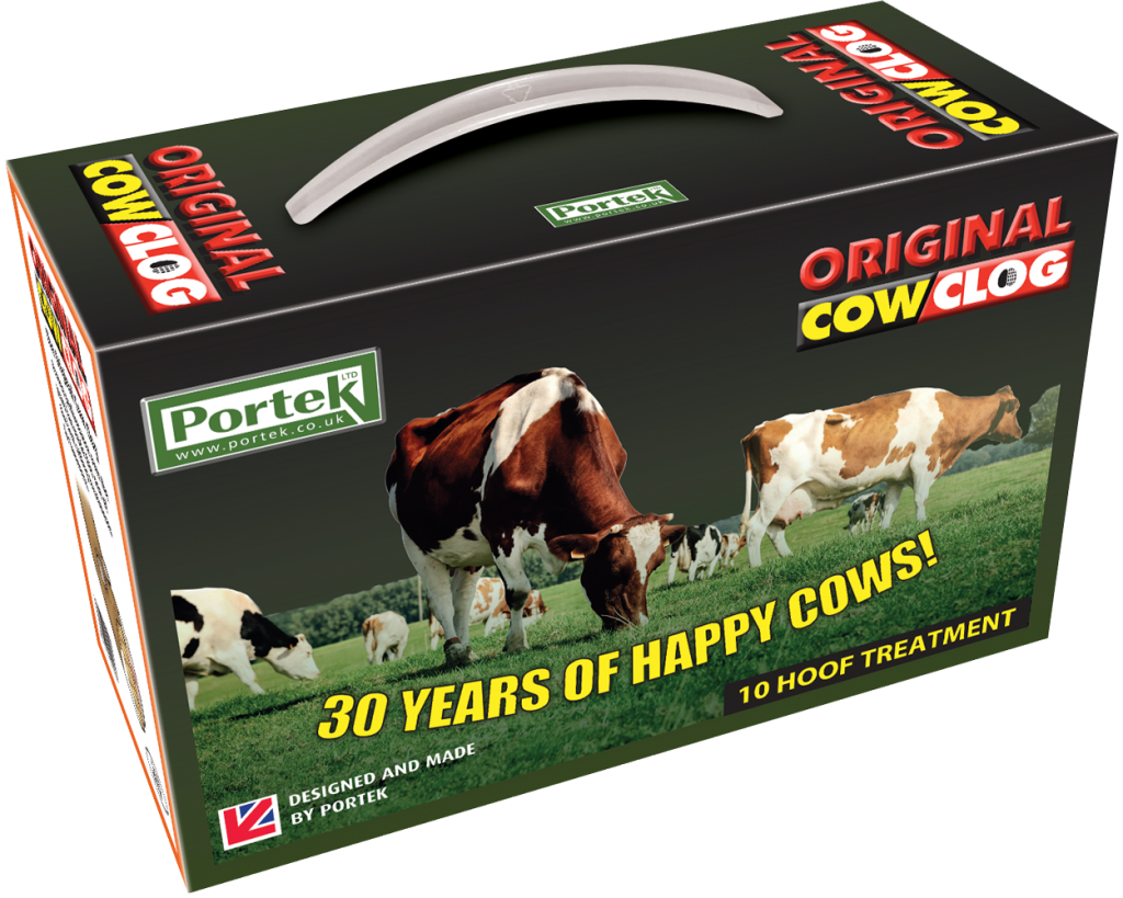 portek original cow clog hoof treatment